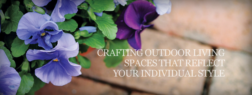 crafting outdoor living spaces that reflect your individual style